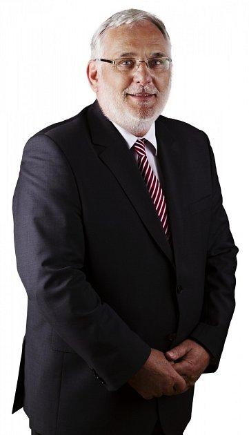 František Novotný, starosta Křtin.