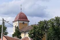 Kostel svatého Jana Křtitele ve Svitávce.