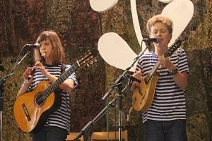 Při prvním ročníku Olešnického kvítku soutěžily čtyři kapely.