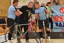 Mistrovství republiky v sálové cyklistice. Ilustrační foto.
