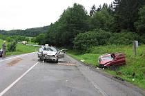 Nehoda na silnici Pod Doubskou skálou