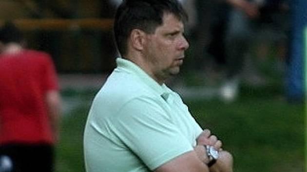 Trenér Radek Sedláček.