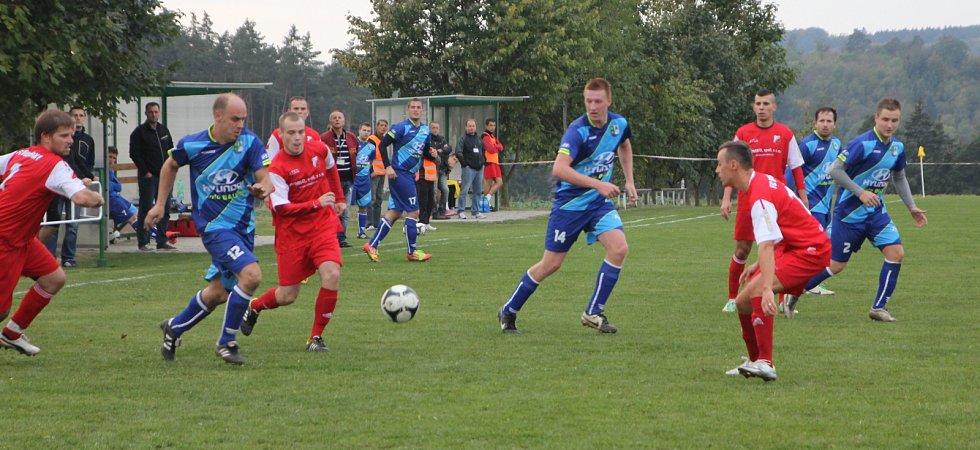 Fotbalisté Vilémovic remizovali s Medlánkami 0:0.