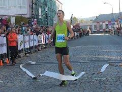 Blanenský běžec Jan Kohut vyhrál Půlmaraton Moravským krasem.