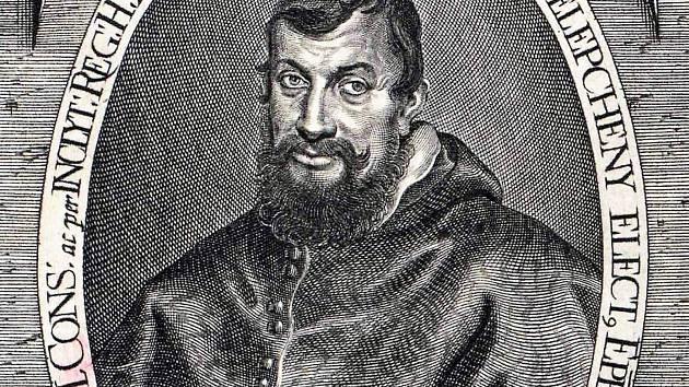 Slovenský arcibiskup, uherský primas a místokrál, filozof, právník, diplomat, grafik a mědirytec Juraj Pohronec-Slepčiansky.
