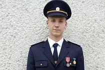 Mladý dobrovolný hasič Lukáš Přikryl ze Sudic obdržel v sobotu medaili za záchranu života. Ocenění převzal v Centru hasičského hnutí v Přibyslavi.