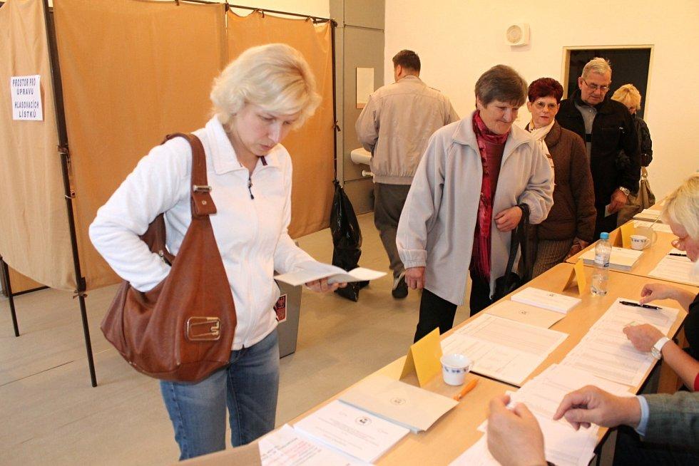 Boskovičtí v pátek hlasovali v historicky prvním referendu města. Rozhodovali o tom, zda má město postavit sportovní halu v ulici Slovákova.