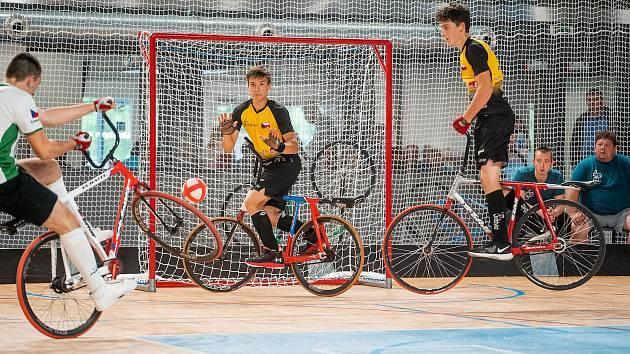 David Petr s Michalem Musilem ze Svitávky ovládli první turnaj juniorské kategorie v sezoně.