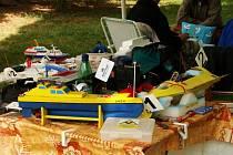 Závodní modely lodí v Blansku