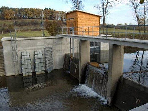 Malá vodní eletrártna. Ilustrační foto