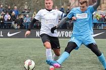REPREZENTAČNÍ SNAJPR. Blanenský útočník Ondřej Paděra (vlevo) se v předchozích dvou sezonách stal nejlepším kanonýrem Superligy malého fotbalu a pořadí střelců vede také v aktuálním ročníku.