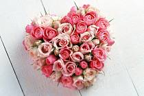 Valentýnské srdce pro zamilované