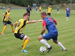 Fotbalisté Blanska porazili Rosice 3:0.