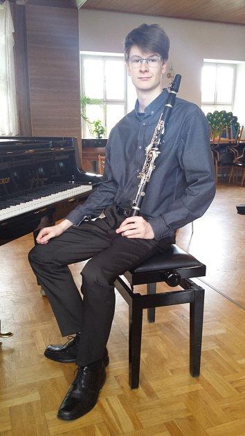 Nadějný muzikant Dalibor Spilka.