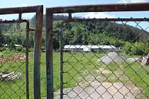 Pozemky ve sportovním areálu Červená zahrada.