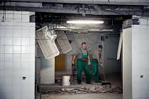 V Blanenské nemocnici začaly v lednu opravovat rehabilitační prostory. Termín ukončení prací je plánovaný na letošní léto.