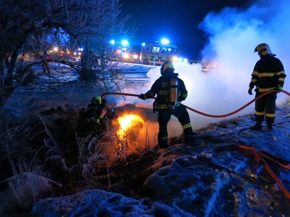 Z hořícího auta Petr Studený vytáhl muže ještě před příjezdem hasičů.