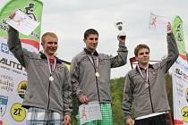55. ročník Běhu Černou Horou vyhrál Jan Kohut.