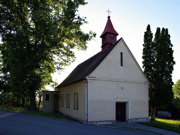 Kaple božského Srdce Páně v Kotvrdovicích.