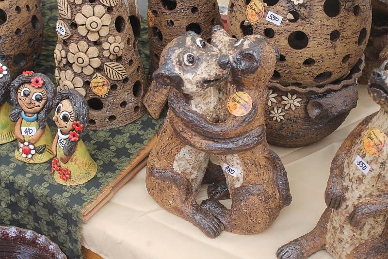 V Kunštátu pořádají přehlídku keramických výrobků a hrnčířského řemesla.