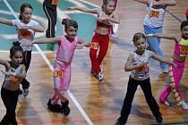 Na regionální soutěži mladých v aerobiku se v Blansku utkalo více než sto soutěžících.