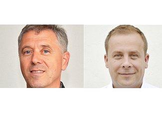 Letovickou radnici povedou učitelé. Novotný (na snímku vpravo) a Procházka