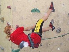 Sportovní lezení po stěně