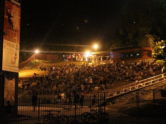 Letní kino v Boskovicích. Ilustrační foto.