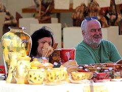 V Kunštátu se o víkendu konal šestadvacátý Hrnčířský jarmark.