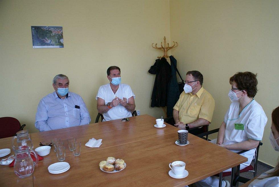 Nemocnice Boskovice poděkovala studentům VOŠ zdravotnické.