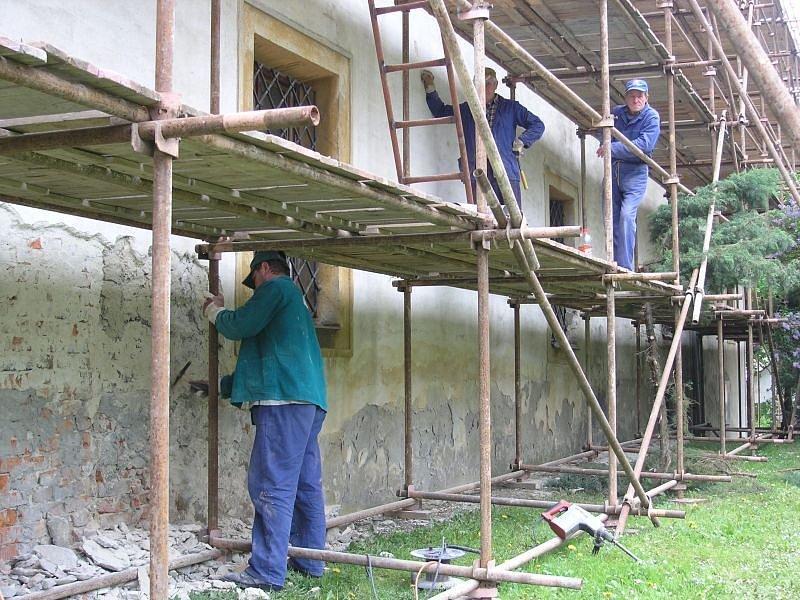 V loňském roce prošel zámek v Blansku rozsáhlou rekonstrukcí.