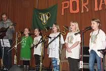 V sobotu odpoledne se do kulturního domu v Krhově sjelo osm hudebních týmů na 29. ročník dětské Porty.