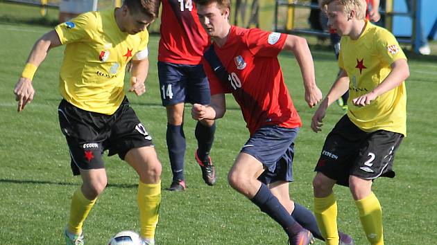 Ve třetím jarním kole Fortuna Moravskoslezské ligy fotbalisté Blanska prohráli s Hanáckou Slavií Kroměříž 1:2.