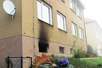 V sobotu po osmé ráno začalo hořet ve sklepních prostorách rodinného domu v ulici Jevíčská.