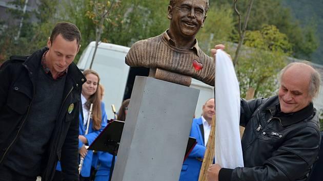 V Letovicích na Blanensku v sobotu odpoledne slavnostně odhalili bustu Václava Havla.