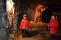 Turisté mohou na Silvestra navštívit také jeskyni Výpustek nedaleko Křtin.