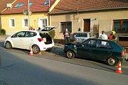 Nehoda v Jedovnicích na Blanensku.