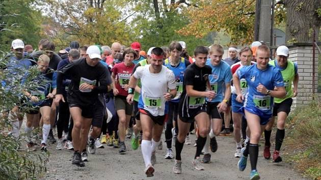 V Kunštátě se běžela Kunštátská desítka. Vyhrál Vojtěch Grün.