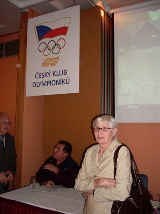 Olga Oldřichová rozená Šicnerová.