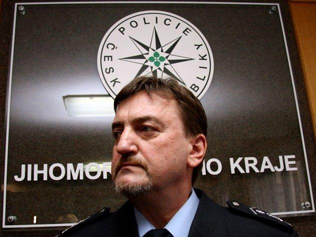 Policejní ředitel Bedřich Koutný