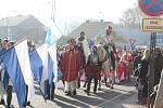 Svatý Martin přijel  do Blanska