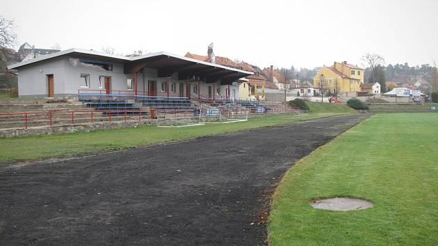 Areál Červené zahrady v Boskovicích.