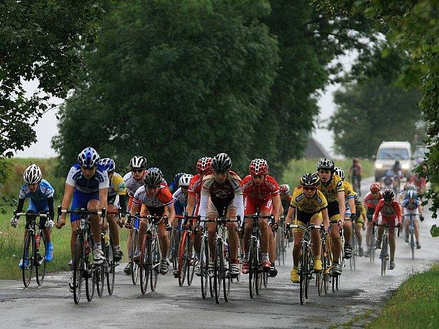 Mistrovství republiky mládeže v silniční cyklistice v Benešově.
