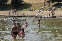 Blanenská přehrada Palava - ilustrační foto.