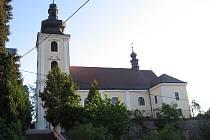 Blanenský kostel. Ilustrační snímek