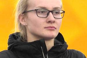 Michaela Hrubá (atletka, 21 let, Bořitov)