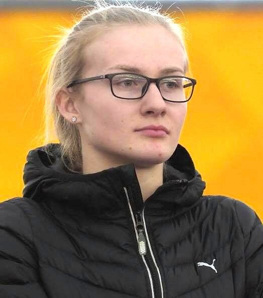 Michaela Hrubá (atletka, 21let, Bořitov)