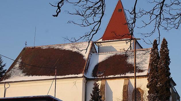 Kostel sv. Václava ve Vanovicích.