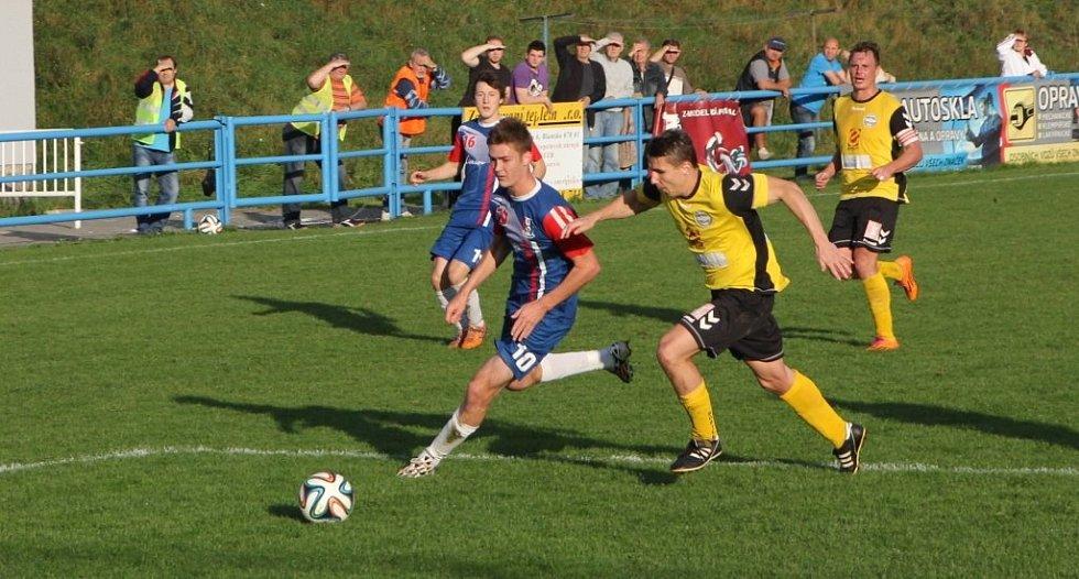 Fotbalisté Blanska remizovali s Rosicemi 1:1.