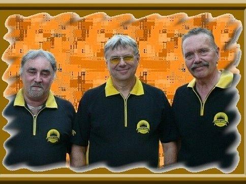 Veselá trojka Pavla Kršky - ilustrační foto.